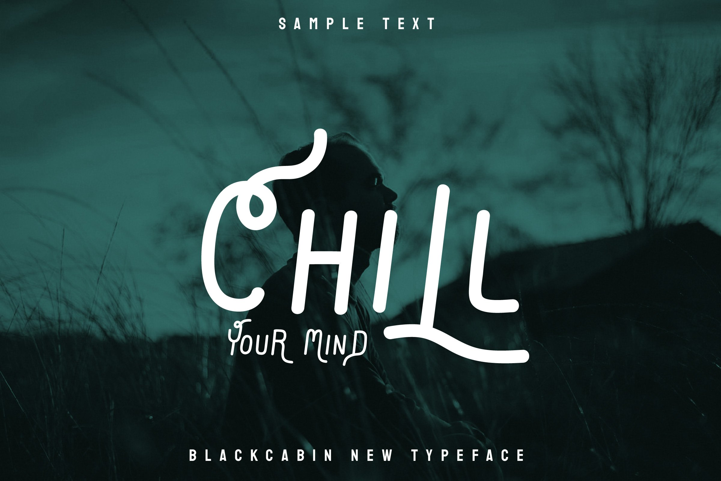 A beautiful stylish font with unusual curled limbs.