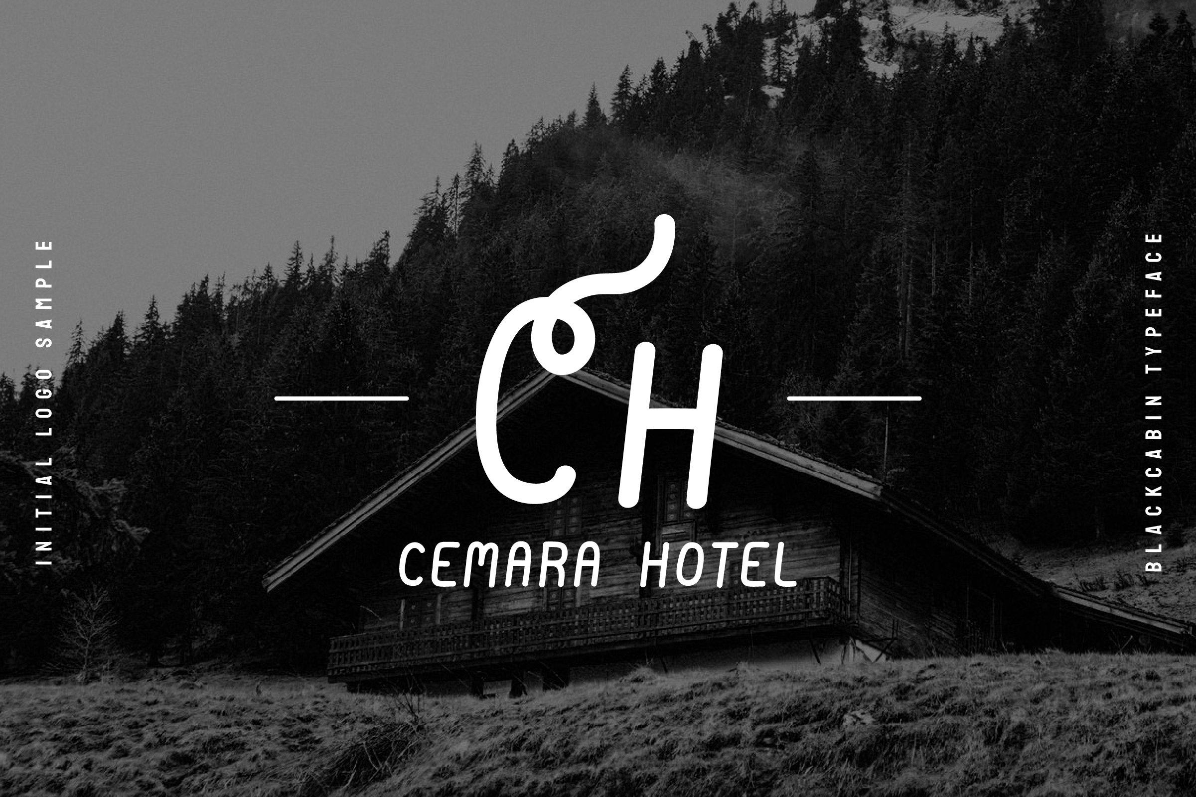 Twisted modern font.