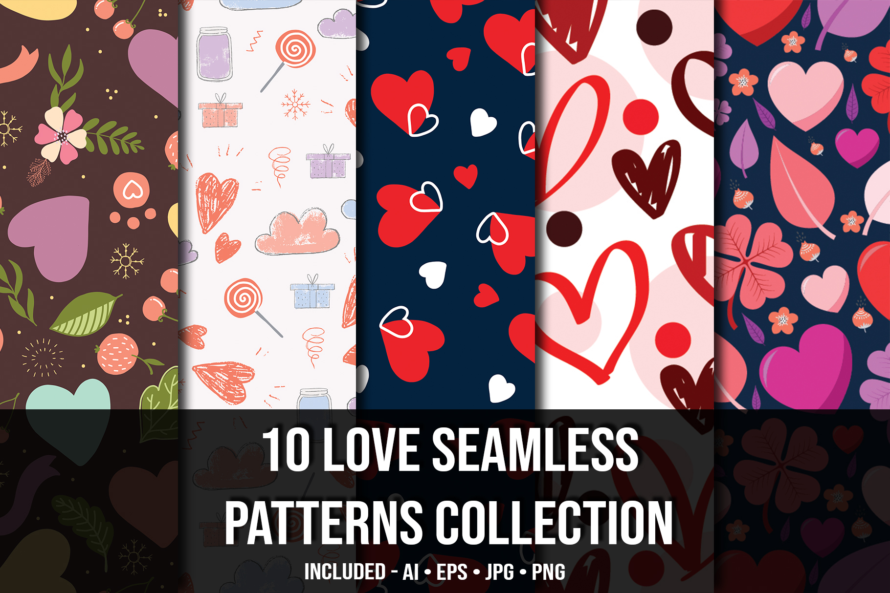 Love seamless collection.