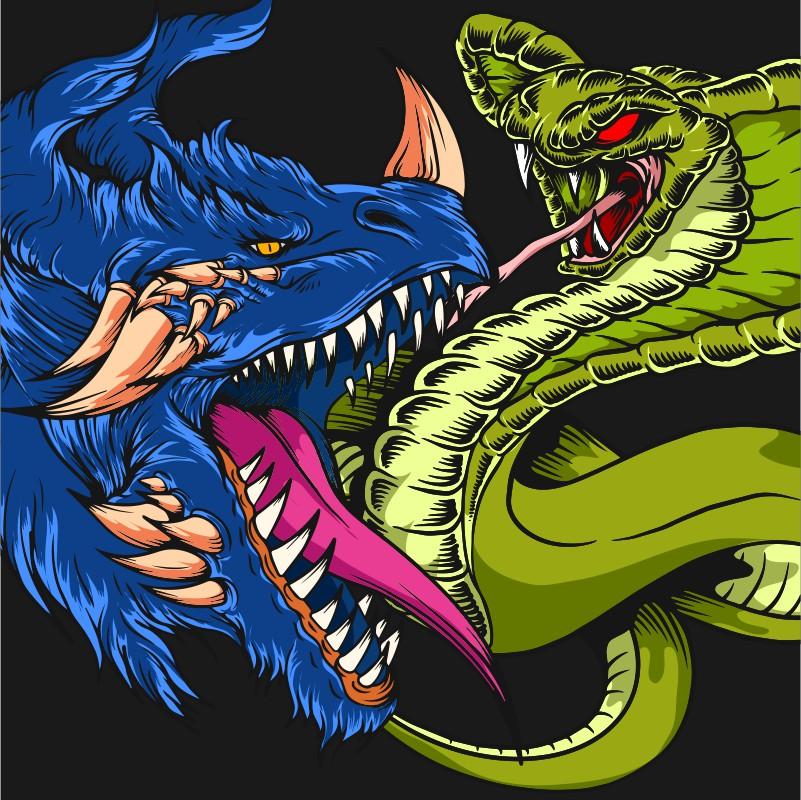 Snake artwork