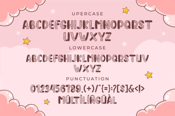 Sweet Dream Baby Blocks Fonts. Cover image.