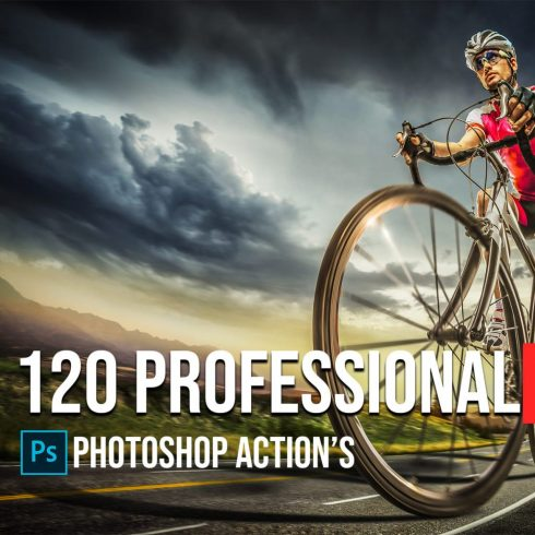 120+ Professional HDR Photoshop Actions Collection