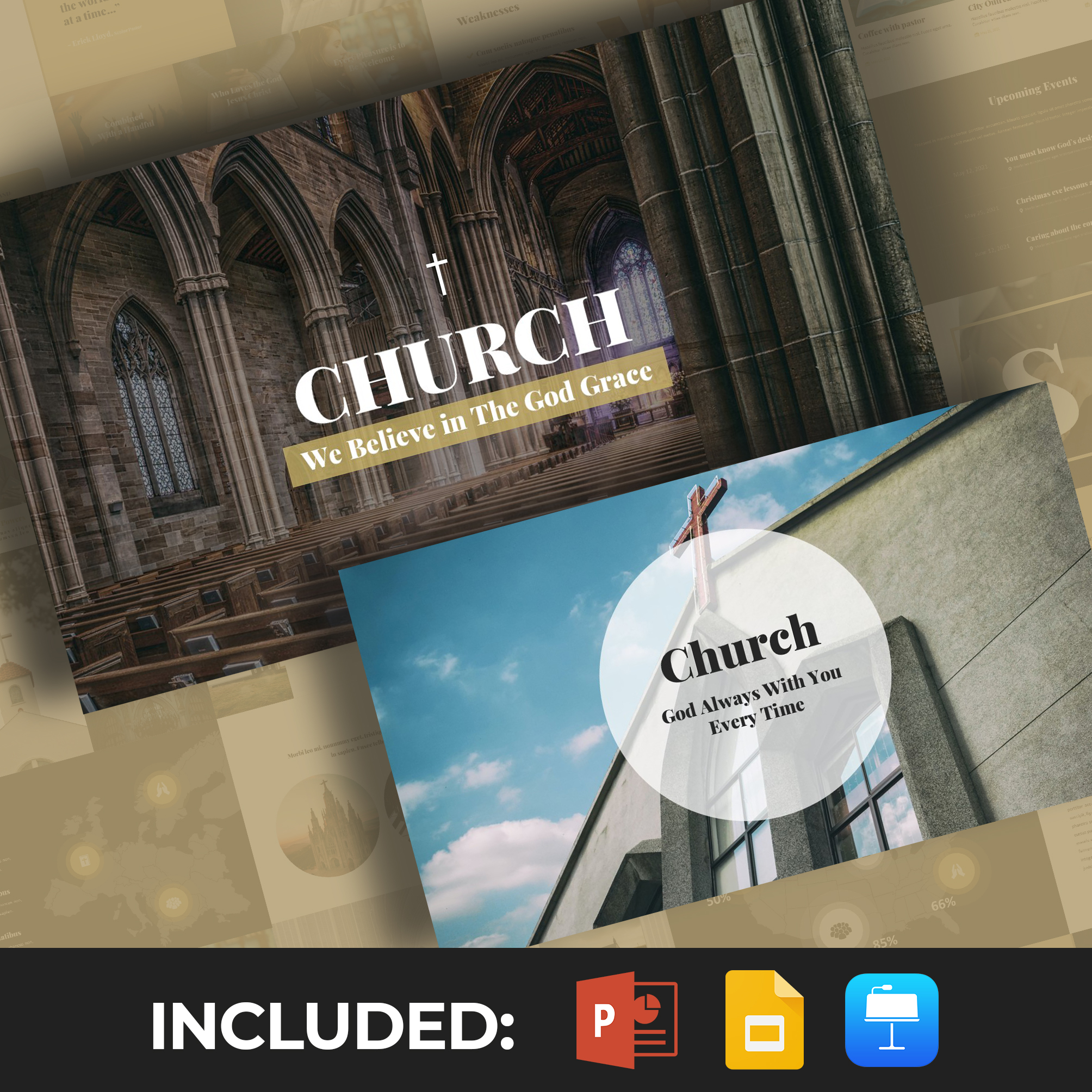 50 Slides Church Presentation Template