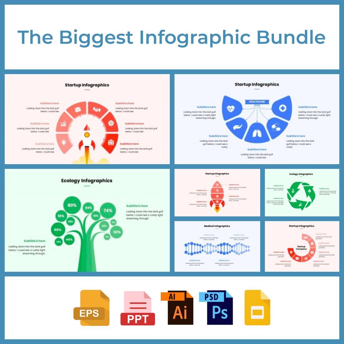 2 The Biggest Infographic Bundle