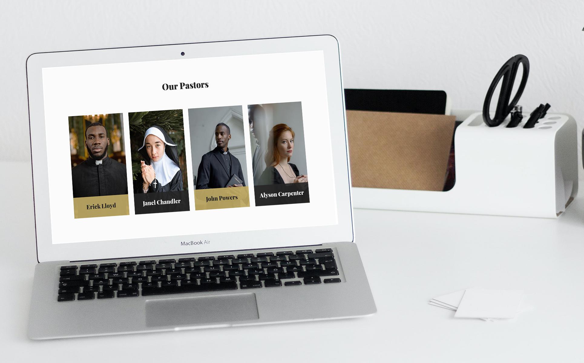 50 Slides Church Presentation Template: Powerpoint, Google Slides & Keynote