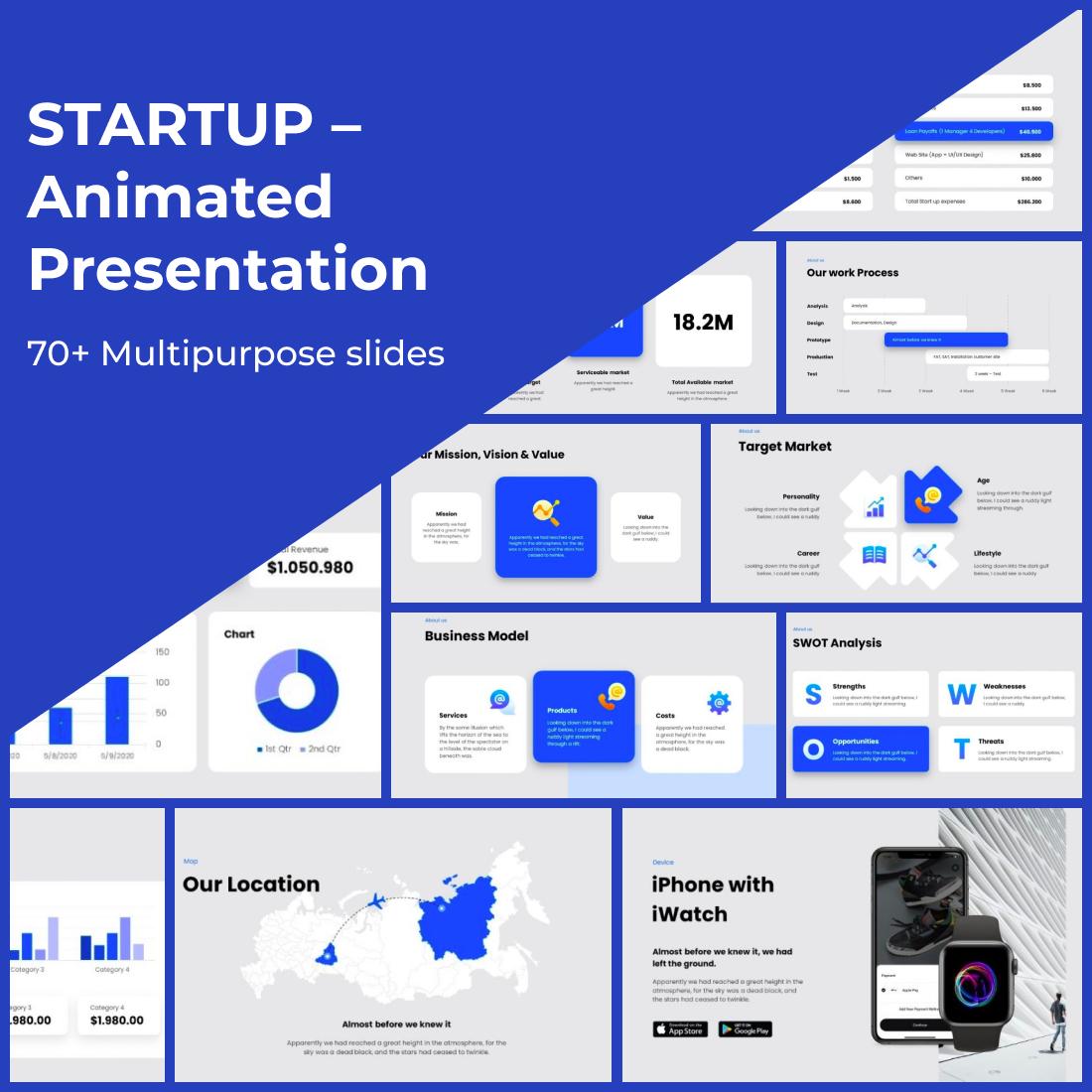 3 STARTUP – Animated Presentation