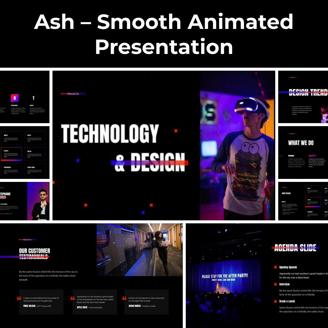 5 Ash – Smooth Animated Presentation