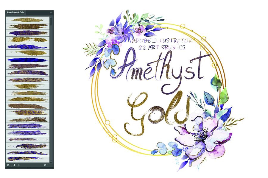 Amethyst Gold