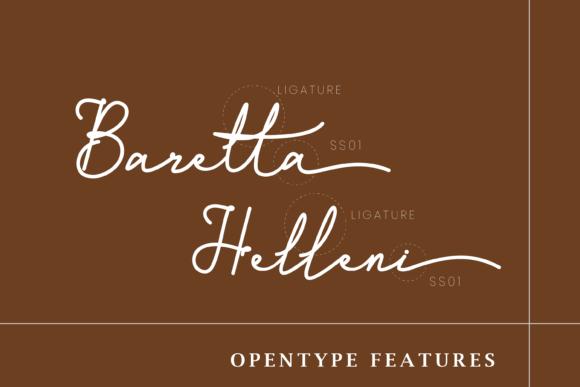 Vintage font on the brown background. Monoline Script Font.