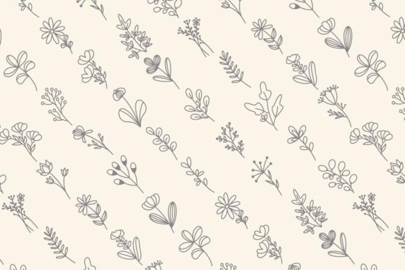 Floral Line Art Graphics 11127639 3 580x387 1
