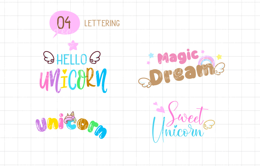This magic font is designed for children and fairy tales.