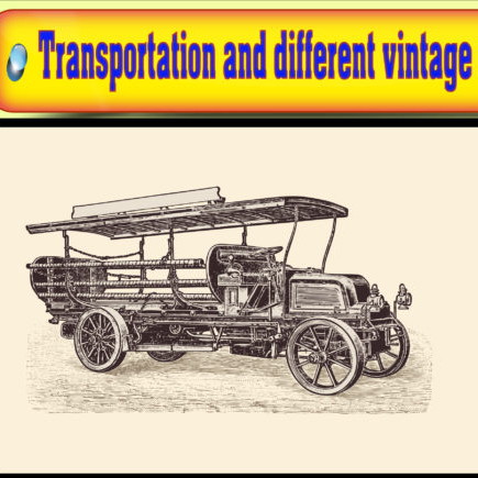 Vector of transportation vintage vehicle Graphics 11444133 1 1 580x435 2