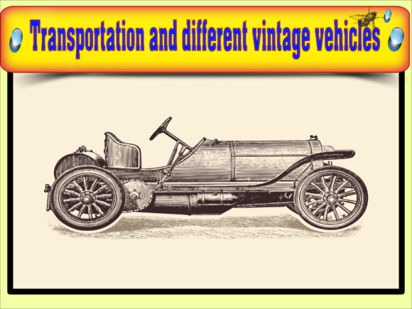 Vector of transportation vintage vehicle Graphics 11444133 3 580x435 1