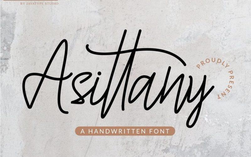 Modern and stylish font.