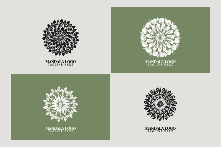 mandala flower logo bundle svg masyafi studio 252313 1024x