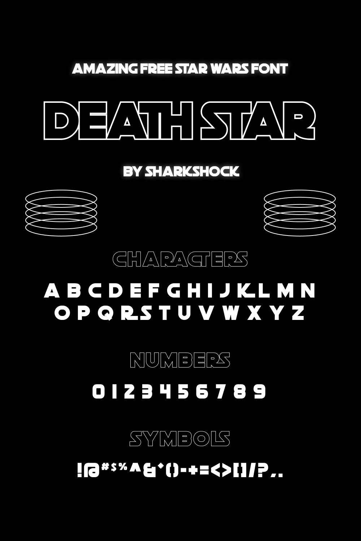 01 Amazing Free star wars font pinterest