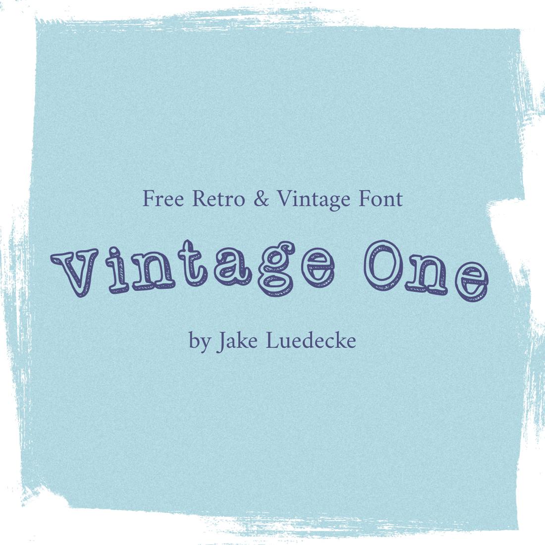 01 Free Retro vintage Font 1100x1100 1