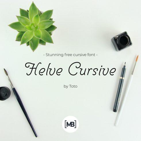 01 Stunning free cursive font 1100x1100 1