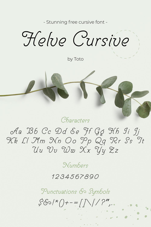 01 Stunning free cursive font Pinterest