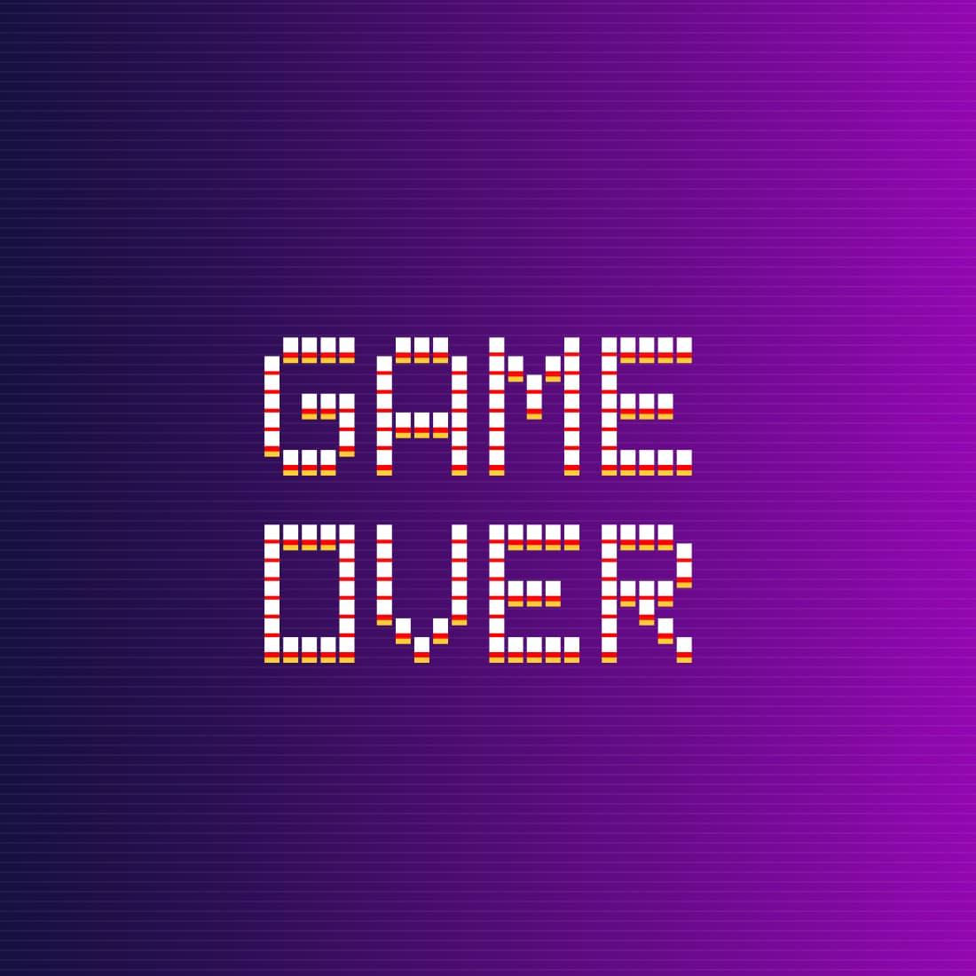 02 Cool free pixel font 1100х1100