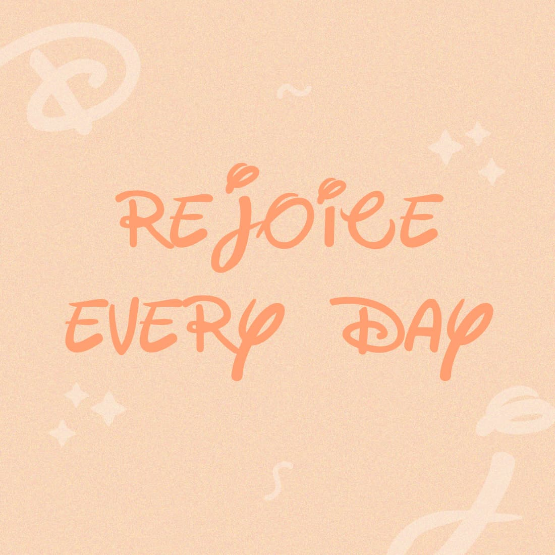 Example phrase with free disney font.