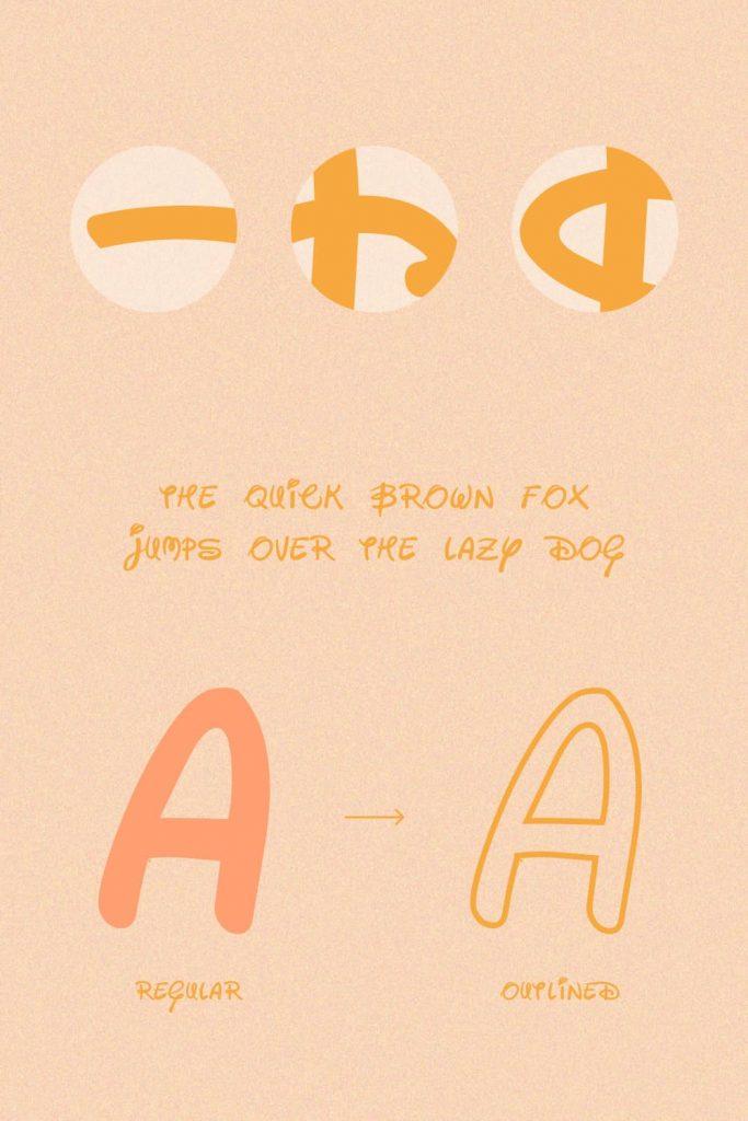 Details free disney font image.