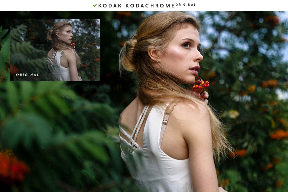 Forest portrait photography.
