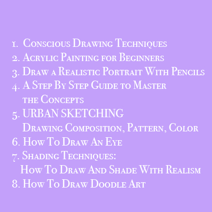 The Ultimate Drawing Course Bundle: 8 Drawing Courses