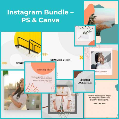 2 Instagram Bundle – PS Canva