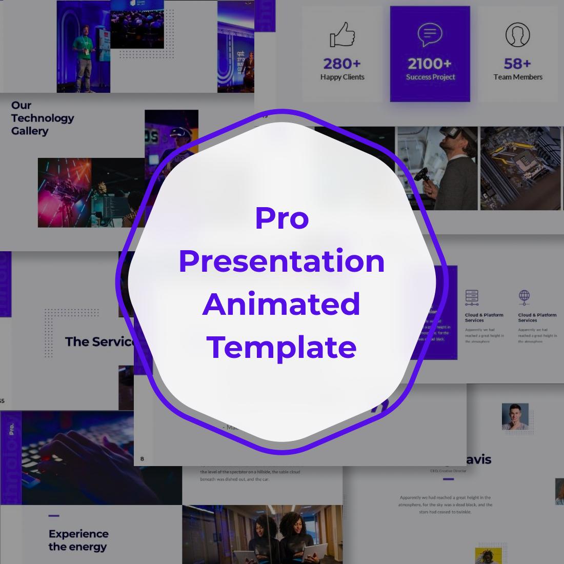 3 Pro Presentation Animated Template