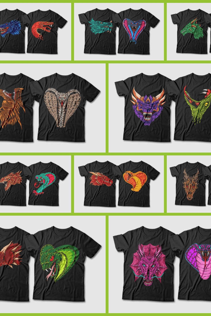 These t-shirts are perfect for dragons and fantastic lovers.