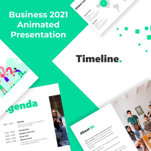 4 Business 2021 Animated Presentation