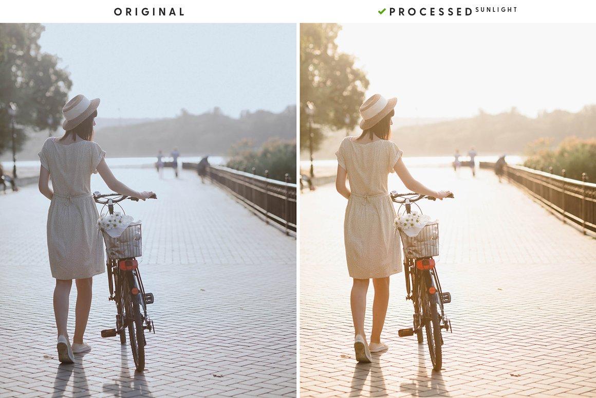 Summer bike ride.
