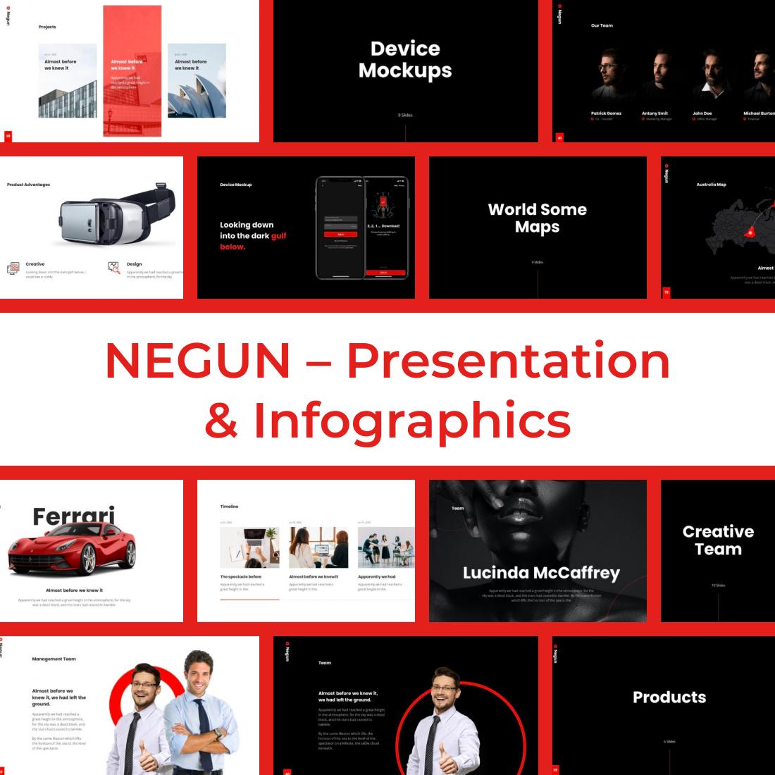 5 NEGUN – Presentation Infographics