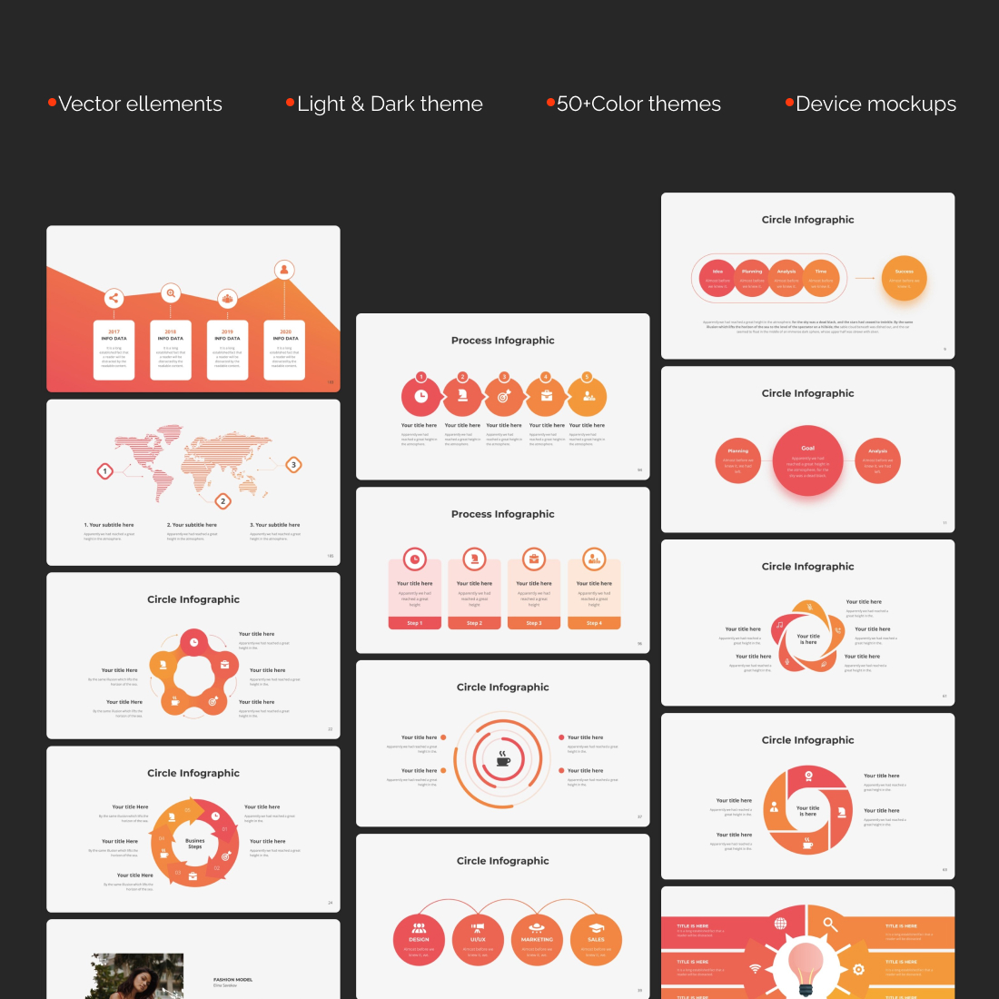 Massive Infographic Template cover image.
