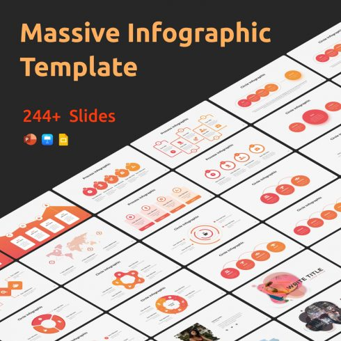 Massive Infographic Template main cover.