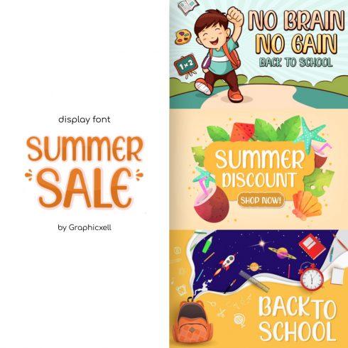 Summer Sale Caribbean Font main cover.