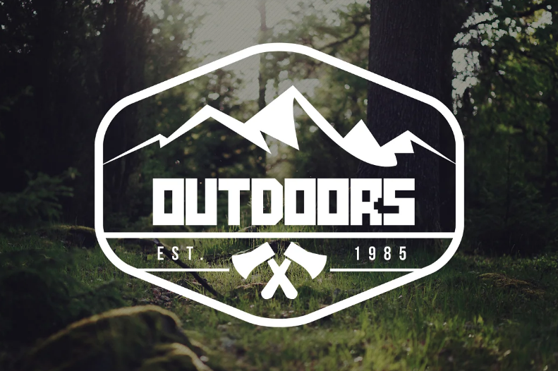 Font for adventure and nature lovers.