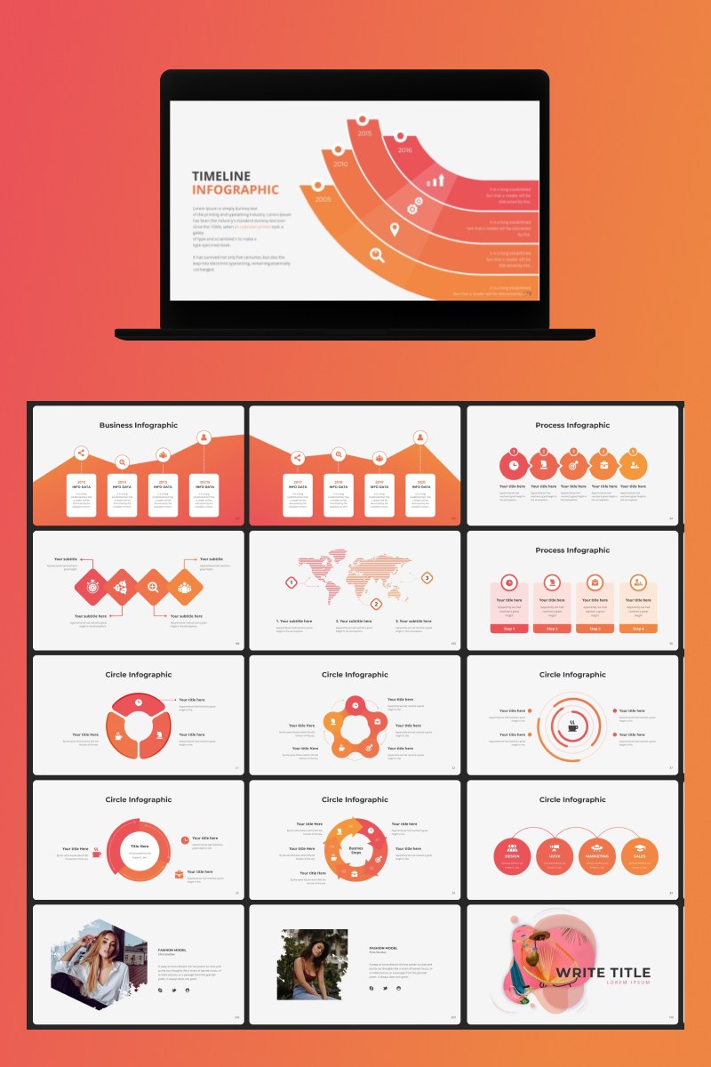 Massive Infographic Template