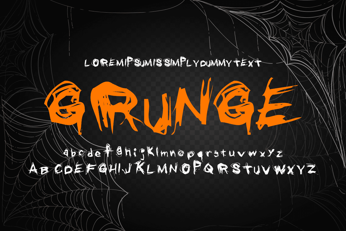 Perfect font for halloween.