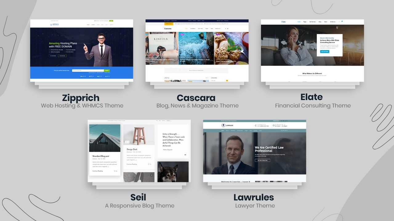 45+ Creative Premium WordPress Themes Massive Bundle 2021 | Bonus: 1500 Graphic Templates!