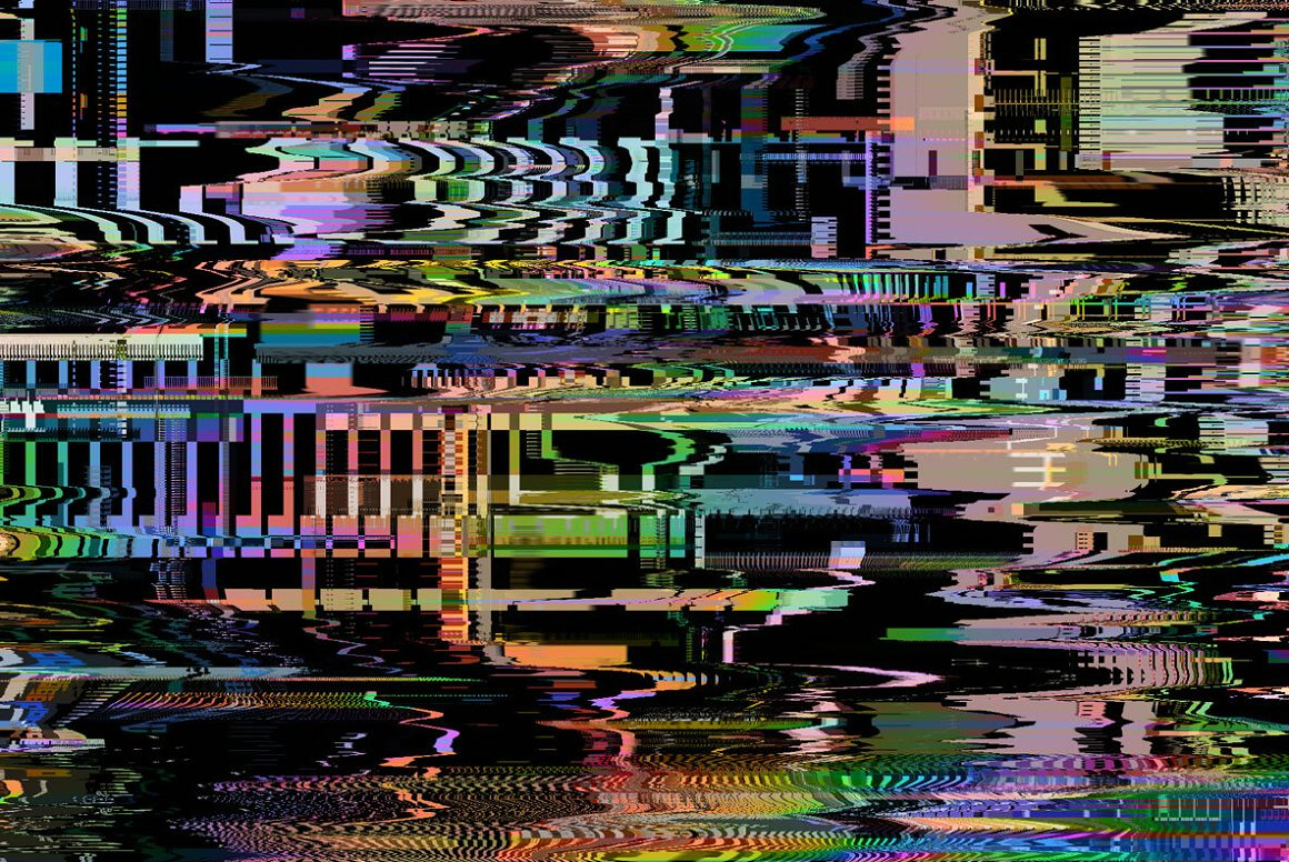 Colorful Glitch Textures.