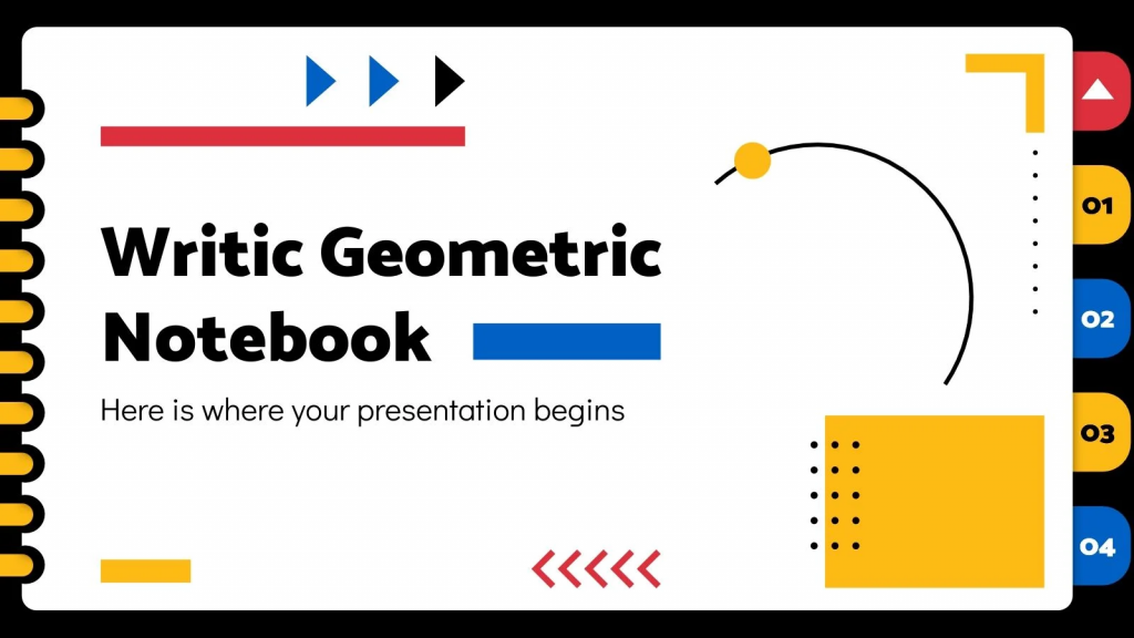 Great presentation template with a specific theme.