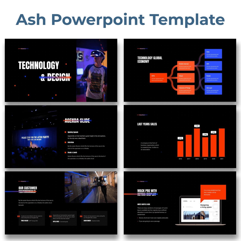 Ash - Smooth Animated Presentation by MasterBundles.