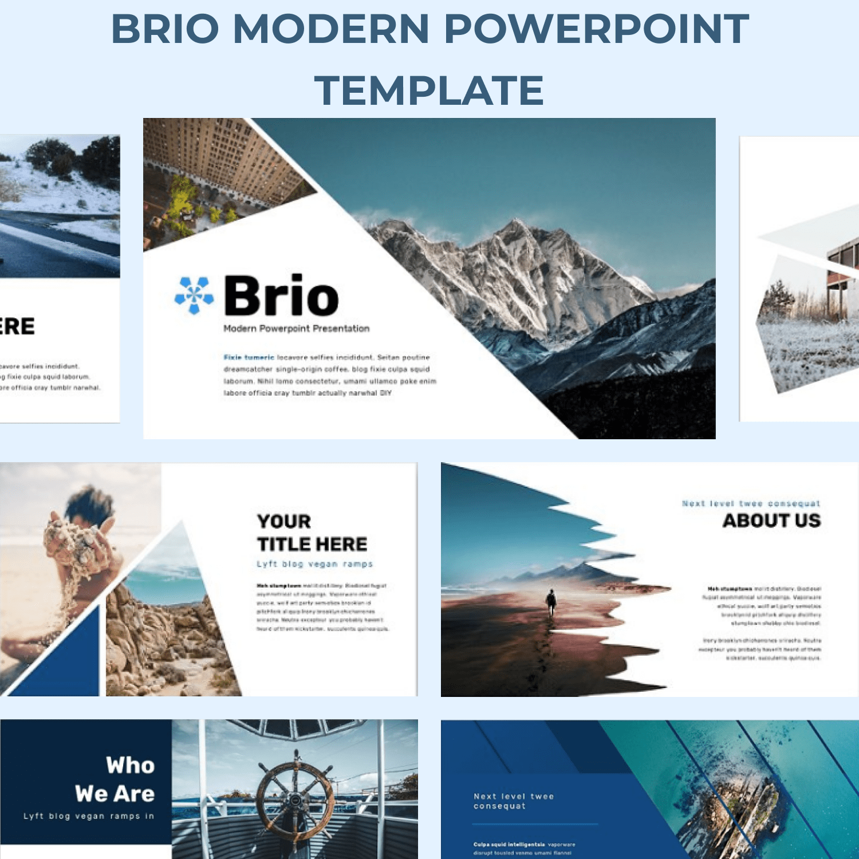 Brio Business Powerpoint Template.