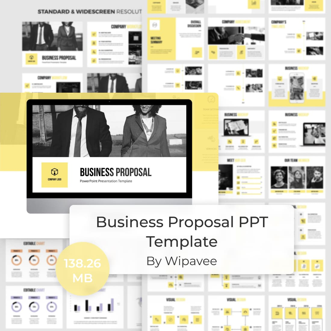Business Proposal PPT Template by MasterBundles.