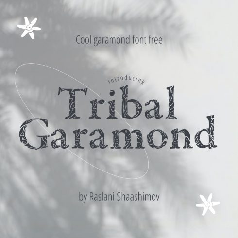 Main image for garamond font free by MasterBundles.
