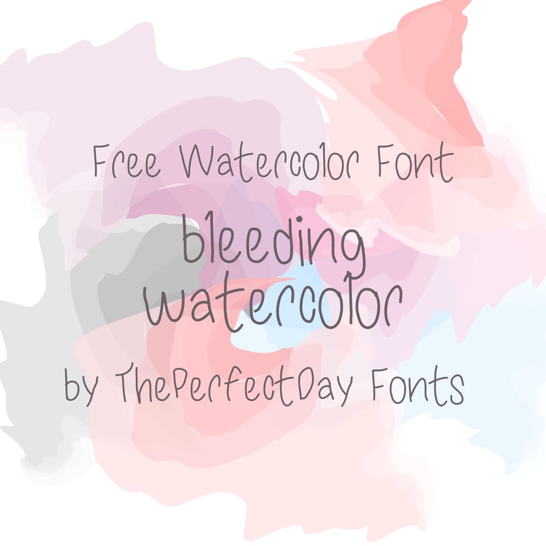 Main Image Free Watercolor Font by MasterBundles.