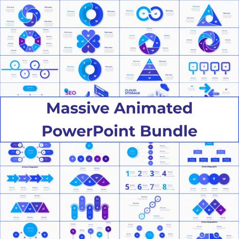 Massive Animated PowerPoint Bundle by MasterBundles.