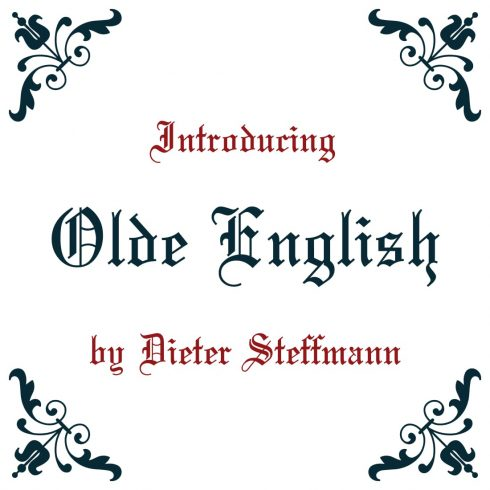 Cover image for Awesome Olde English - old english font free by MasterBundles.